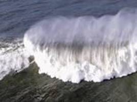 giant life-threatening waves pummel northern california triggering high-surf warnings