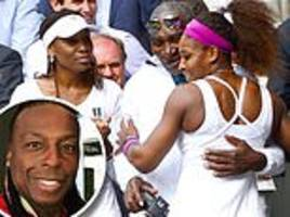 serena and venus williams dad richard he can hardly speak after two strokes, needs son to interpret