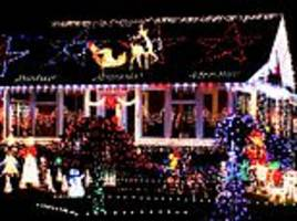 use 2,683 led christmas lights on your roof if you want it to be spotted from space