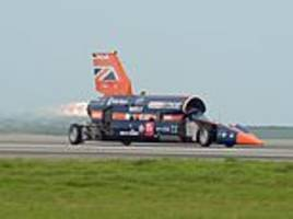 british project to build supersonic car capable of hitting 1,000mph is saved as investor steps in