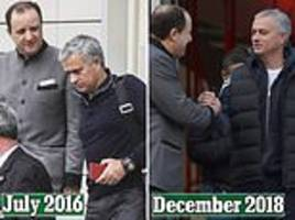Jose Mourinho checks out of the Lowry Hotel after 895 days and an astonishing £537,000 bill
