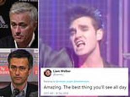 heaven knows i'm miserable now! fan creates jose mourinho mash-up version of the smiths classic
