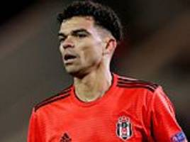 pepe linked with a move to join wolves after besiktas release