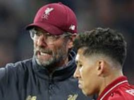 roberto firmino says playing for jurgen klopp is a 'joyful experience'