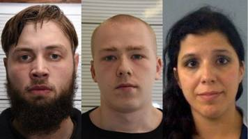 national action trial: members of neo-nazi group jailed