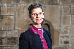 church of england's first female bishop to lead derby diocese