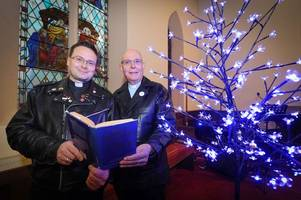 elvis presley song inspires church service for those having a 'blue' christmas