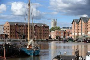 residents will wake up to dredging at gloucester docks in the new year