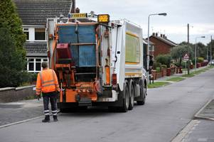 here's when your bin collections will happen over christmas and new year in scunthorpe and north lincolnshire