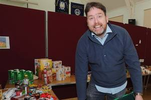 wishaw-based foodbank braces for busy christmas after dishing out extra tonne of food