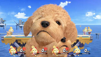 Isabelle turns Super Smash Bros. Ultimate into Assist Trophy hell