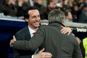 every word from unai emery on jose mourinho, north london derby and the racism in football