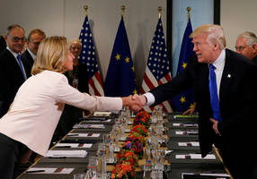 eight eu states warn trump peace plan will fail unless based on 1967 lines