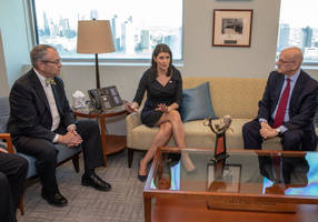 b'nai b'rith recognizes nikki haley for diplomatic excellence