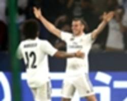 kashima antlers 1 real madrid 3: bale treble seals club world cup final berth