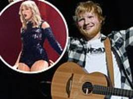ed sheeran smashes all time record for most money made on tour - bringing in £342m in 2018