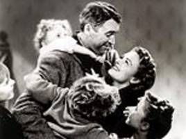 nation's favourite festive film is 1940s weepie it's a wonderful life