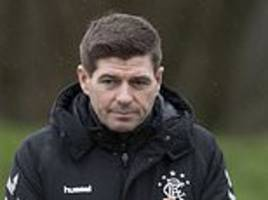 Rangers bring in American pair on trial as Steven Gerrard weighs up permanent moves
