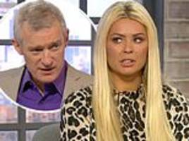 nicola mclean leaves jeremy vine red-faced as he makes very awkward gaffe about her assets