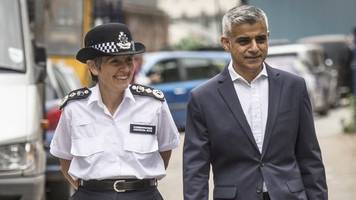 met police funding: london mayor warns of council tax rise