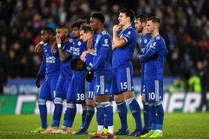 'huge opportunity missed' - leicester city and manchester city fans react to carabao cup quarter-final