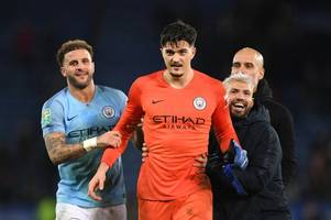 pep guardiola heaps praise on manchester city goalkeeper rather than worry about quality of penalties