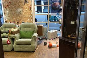 Hockley charity shop has windows smashed by vandals causing thousands of pounds worth of damage