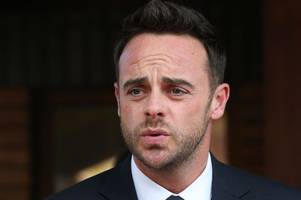 ant mcpartlin will return from rehab to present britain's got talent