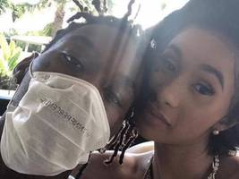 """look: offset shows he's all about family: """"my kids look better than yours"""""""