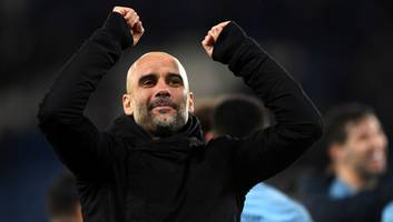 pep guardiola praises young stars after man city reach efl cup semi finals with leicester win