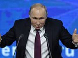 putin on armageddon, brexit... and getting married again