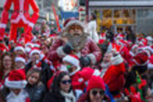 former santaconner wants santacon banned after emerging from santacon-induced coma