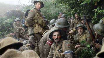 film 'they shall not grow old' breathes life into wwi footage