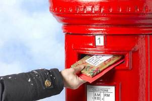 Last Royal Mail posting dates for for Christmas 2018