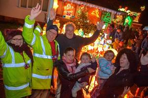 Paul's Christmas lights raise a whopping £20k for Devon Air Ambulance