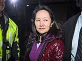 arrested huawei cfo pens an emotional diary entry after she was released on bail in canada