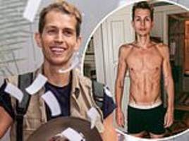 i'm a celebrity's james mcvey admits losing 11lbs made him confront his relationship with food