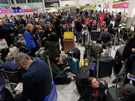 london's second-largest airport reopens after being shut down again because of a drone sighting