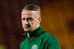 celtic striker leigh griffiths in strong-worded vow as he returns to social media