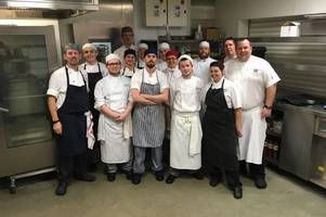 west lothian college students serve up a treat at £67,000 charity event