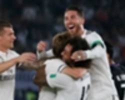 real madrid 4 al ain 1: modric caps golden 2018 by delivering solari's first trophy