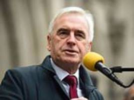 john mcdonnell's sympathy strike plan 'would have led to chaos throughout the year'