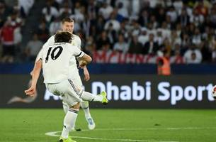 luka modric's curler has given real madrid an early lead  vs. al ain   2018 fifa club world cup highlights