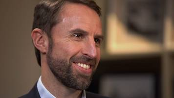 gareth southgate: 'unicorns and rubber chickens' - england's world cup entertainment