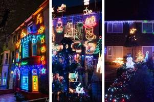 the best christmas lights in kent can be revealed after they were chosen by you