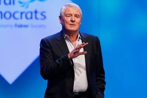 Paddy Ashdown dead as former Liberal Democrat leader passes away aged 77