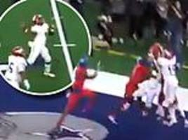 astonishing 45-yard hail mary pass at texas high school state championship epic touch down catch