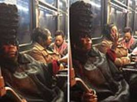 'i know i look good. bye, felicia!': hair-larious bus argument erupts over 'crazy' woman's hairstyle