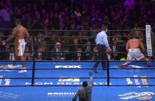 dominic breazeale kos carlos negron in the 9th round | highlights | pbc on fox