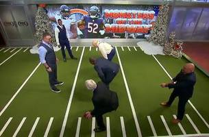 what makes khalil mack so effective? michael strahan and howie long walk us through the bears' defensive tactics